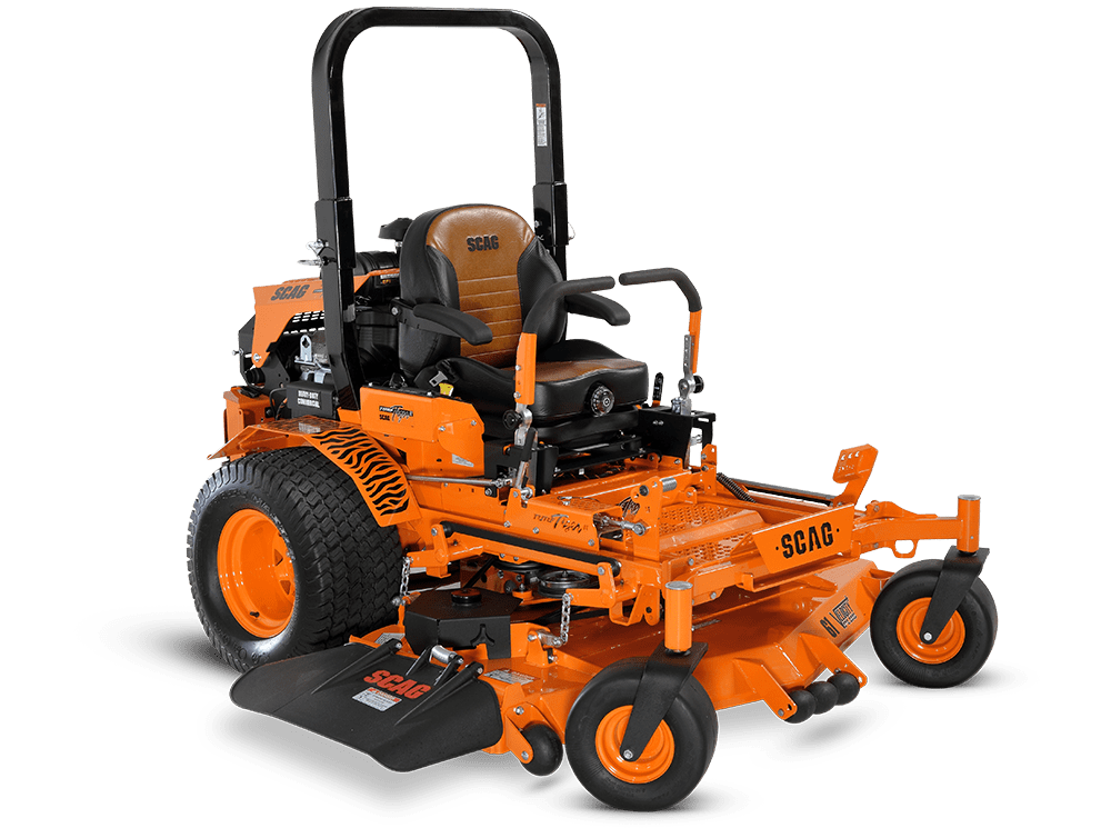 SCAG zero-turn riding mower Turf Tiger II